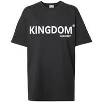 top london t-shirts großhandel-Hochwertige mode luxus neueste mens designer t-shirt top tees frauen t-shirt bur kurzarm casual t-shirt männlich london t-shirt