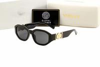 Wholesale top sight resale online - Top Quality Fashion Sunglasses Women Eyeglasses Vintage Men Gold Frame Polarized Man Sun Eye Glasses Woman Sunglass for Mens Womens