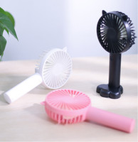 Wholesale fans for sale - Group buy Mini USB Fan Portable Handheld Ventiladors Rechargeable Built in Battery Handy Air Cooling Fan For Outdoor Home office Travel