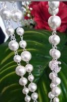 ingrosso collana di strati di strato-Single Layers Perle simulate Perline Collana di fiori di camelia Crystal Pave Flower Camelia Collres gioielli di lusso donna