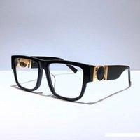 yeni stil lensler toptan satış-erkekler Tasarımcı Moda Kare Kare net Lens Popüler Yaz Style için yeni 4369 optik gözlük Üst Kalite ile Vaka 4369S gözlük