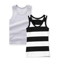 подлокотник для мальчика оптовых-SheeCute 2-pack chindren без рукавов футболка девушки мальчики Майки майка рубашка 0932