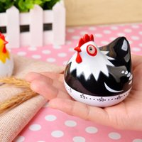 Wholesale countdown clock minutes resale online - Cartoon Chicken Minute Countdown Kitchen Cooking Mechanical Alarm Timer Clock Kitchen Timer Cooking Kitchen Timer