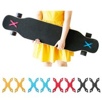 aluminiumdichtungen großhandel-2 Stück Skateboard Anti Sinking Dichtungen Aluminium Pads für Skateboards Schutz rund / Sharp Edge Zubehör Dropshipping