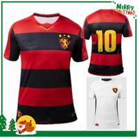 lijadoras rojas al por mayor-19 20 Sport Club do Recife jerseys del fútbol 2019 2020 camisetas de Camisetas de futbol casa roja Hernane SANDER YAGO LUAN Artur Augusto