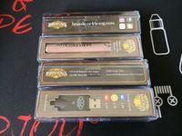 messingpatronen großhandel-BK Brass Knuckles Einstellbare Spannung Batterie Vape Pen 650mAh 900mAh Batterien Gold Hölzerne Vorheizbatterien für dicke Ölpatronenbehälter