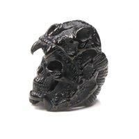 ingrosso anello giaguaro-Gioielli Cool Fashion Mens Ragazzi dell'acciaio inossidabile 316L del motociclista anelli del cranio Vintage indiano Jaguar Warrior punk del cranio per i fidanzati