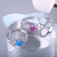 Wholesale manufacturer samples for sale - Group buy Fashion European and American hot opal Aobao ring manufacturers direct sales support sample processing custom Z0109