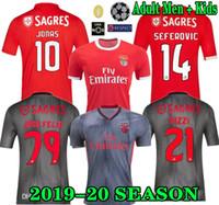 jersey de futebol jones venda por atacado-top 19 20 JOAO FELIX camisa de futebol Benfica RUBEN DIAS Camisas de futebol PIZZI RAFA JONES camisa de futebol Adulto Homens camisa de futebol