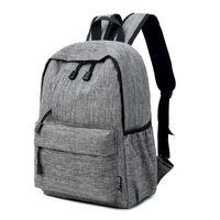 mochila de niña de 12 pulgadas al por mayor-Datomarry 12 o 15 pulgadas Grey sac a dos homme, mochila roja masculina, mochila negra mochila hembra, mochila para hombre