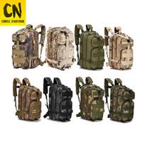 mochilas para hombres al por mayor-ON SALECamouflage Mochila de viaje Mochila Hombres Drop Ship Bag 3P Mochilas de lona masculina Mochilas de gran capacidad Mochila impermeable