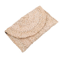 соломенные муфты оптовых-Women Casual 2019 New Style Handbags Fashion Hot Solid Women's Day Clutches Beautiful Girl Straw Handbags For Lady Bag