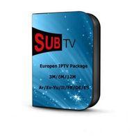 iş için cep telefonu toptan satış-SUBTV IPTV CANLI TV + VOD çalışan Android Enigma, Mag25X, Cep Telefonu, Akıllı TV