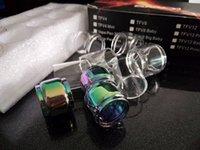 ijust kit atomizer toptan satış-7-Color Yağ Uzatma Yedek Ampul Kabarcık Cam Tüp Eleaf iJust 3 Starter Kiti 3000 mAh 80 W ile ELLO Duro Atomizer 6.5 ML iJust 3 Buit