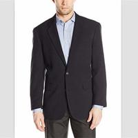 nouveaux smokings d'image achat en gros de-2018 New Navy Satin Men Suits Clasicc Fit 2 Pants Manteau Design Pantalon Image Blazer Tuxedos Hommes Costumes De Mariage