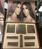 lipgloss für mädchen großhandel-Neueste! Hochwertiges Make-up Set die Mädchenpalette Desi X Katy Set Collaboration Collection Matte Lipstick Lip Gloss Lidschatten