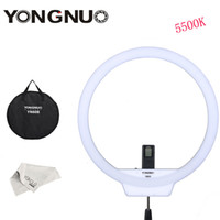 Wholesale led lights video yongnuo resale online - 608 YONGNUO YN608 K Annular LED Selfie Studio Ring Light Lamp Wireless Remote LED Ring Video Light CRI gt