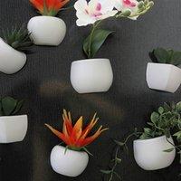 flores artificiais para hotéis venda por atacado-Flor Artificial Planta Suculenta Frigorífico Adesivo Bonsai Ímã Planta Verde Bonsai Casamento Em Casa Decoração Do Partido Do Hotel A724