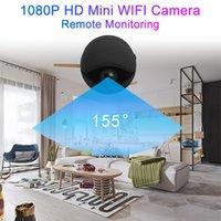 grabadoras de video al por mayor-Mini cámara con wifi Seguridad Versión nocturna Cámara de acción con sensor de movimiento Videocámara Voz Grabadora de video Pequeña ip al aire libre