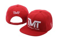 snapback gorras equipos de beisbol al por mayor-TMT Print Snapback Hats Famous Brand Basketball Team Running Gorras de béisbol Snapbacks Hats envío gratis