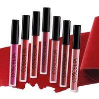 Wholesale lipstick color long lasting online - 15 Color Matte Sexy Liquid Lip Gloss Makeup Velvet Nude Lip Gloss Waterproof Liquid Matte Lipstick Long Lasting Beauty Makeup