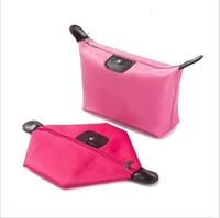 kozmetik kutusu büyük toptan satış-Çok fonksiyonlu kozmetik çantası küçük taşınabilir basit büyük kapasiteli taşınabilir saklama torbaları kutusu kız tasarımcı tuvalet çantası