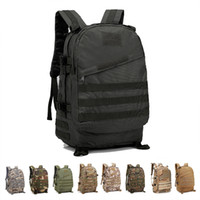 Wholesale military bags for sale - 3D Outdoor Sport Military Tactical climbing mountaineering Backpack Camping Hiking Trekking Rucksack Travel outdoor Bag MMA1624