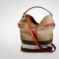 vücut torbaları toptan satış-Vintage Lüks Tasarımcı Çanta Kadın Tuval Omuz Çantaları Yüksek Kaliteli Rahat Çapraz Vücut Çanta 2019 Son Messenger Çanta