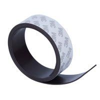 tiras de borracha magnética venda por atacado-ardware materiais magnéticos de alta qualidade 30 * 1.5 1 metro autoadesivo flexível Magnetic Strip 3M borracha ímã fita largura 30 espessura 1,5 ...