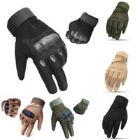 ingrosso falco nero tattico-Guanti protettivi per esterni Full Finger Black Hawk Tactical Cycling Arrampicata sportiva Training Army Commando Guanti Free DHL M356Z