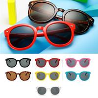 Wholesale frame glasses eye for kids for sale - Group buy Cat Eye Designer Sunglasses for Children Fashion Girl Boy Cute Sun glass Kids Gradient UV400 Kawaii Lovely Eyewear