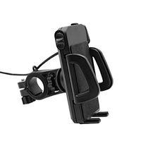 ingrosso supporto per telefono cellulare impermeabile per moto-Nuovo generico 2 in 1 impermeabile supporto per cellulare per cellulare con cavo USB Power Charger
