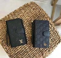 ingrosso cassa del portafoglio per iphone 6s di apple-Custodia Portafoglio di lusso per IphoneX / XS XR XSMAX Iphone7 / 8Plus Iphone7 / 8 6 / 6sP 6 / 6s Marca L V Portafoglio IPhone Custodia con clip di marca