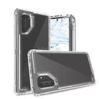 ingrosso casi cristallini del telefono delle cellule-Per Alcatel Avalon V 1X Evolve 2018 Ideale Xtra 5059R colorato Combo difensore antiurto Cell Phone TPU Crystal Case Hot plastica trasparente