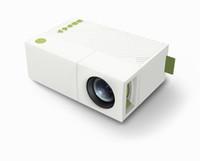 projetor de filme lcd venda por atacado-Original aao yg310 lcd projetor 600lm 320 x 240 1080 p mini portátil filme hd projetor lcd para jogos de vídeo tv home cinema