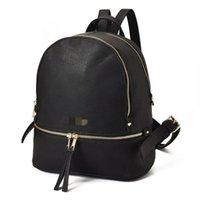 okul çantası çantası toptan satış-Yeni Moda Kadınlar Marka Kızlar için Sırt Çantası Tarzı Çanta Çanta Okul Çantası Kadın Lüks Tasarımcı Omuz Çantaları Çanta