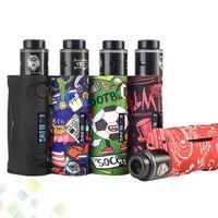ingrosso kit di vapor ecig mod-Kit originale Vapor Storm Baby Lion RDA 80W Ecig Moda Graffiti Fit 18650 Batteria Vape Mods Starter Kit DHL Free