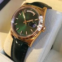 bayanlar altın kol saatleri toptan satış-Yeni Varış Kraliyet Meşe Kuvars 33 Mm Saatler Paslanmaz Siyah Gül Altın Vaka Dağıtım Bilezik Moda İzle Bayanlar Bayan Kol Saati