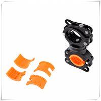 porte-vélos de camion achat en gros de-Lumières de camion racks 360 ° rotation réglable support de lampe avant vélo support de lampe de poche support de pince de lumière peut être utilisé pour réparer la lampe de poche