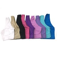 Wholesale outdoor yoga clothes for sale - Group buy Sports Yoga Bra Outfits High Quality Single Layer Sports Vest Women Outdoor Seamless Fitness Wear Running Clothes Designer
