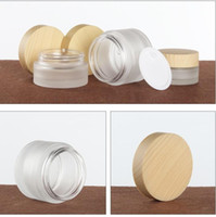 Wholesale cosmetic jar stock for sale - Group buy 20g g g Glass Cream Jar Cosmetic Container Bottles ml ml ml ml ml Frosted Glass Lotion Pump Perfume Spray Bottle in stock