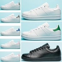 low priced 72274 a9da4 adidas Stan Smith Nuovo di alta qualità brand new stan scarpe moda smith  sneakers in pelle casual uomo donna sport scarpe da corsa jogging scarpe da  ...