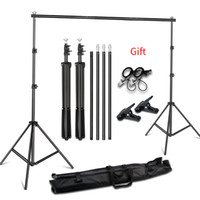 Wholesale carry photo resale online - 2X2M X3M Photography Background Backdrop Stand Support System Kit for Photo Studio Photo Background Stand with Carrying Bag