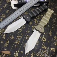 Wholesale cold steel pocket resale online - Cold steel folding knife BENCH D2 blade G10 handle BM outdoor tactical hunting camping knife pocket tool EDC portable men s gift