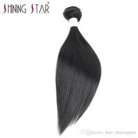 переплетения волос в сети оптовых-Девственные индийские прямые индийские девственные волосы смешанной длины необработанные индийские пучки волос дешевые человеческие волосы переплетения онлайн