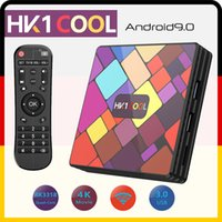 Wholesale HK1 COOL Smart TV BOX Android RK3318 Quad Core WIFI G G G G G G K D Set Top Box