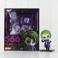 Wholesale dark knight toys action figures for sale - Group buy Nendoroid Batman The Dark Knight Joker Painted Figure Villain s Edition Joker Doll Pvc Action Figure Collectible Model Toy Y19062901