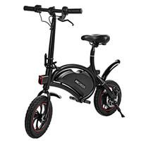 ingrosso gps pieghevole-Bluetooth (sopra Android 4.3 / iOS 8) Bicicletta elettrica pieghevole in alluminio GPS Bicicletta elettrica portatile 20KM Gamma IPX5 impermeabile
