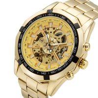 reloj mecánico para niños al por mayor-G043 Ventas hombres negocios moda deportes reloj mecánico automático completo reloj hueco hombre deporte hombre joven
