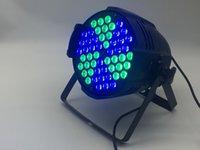 linterna de la etapa de iluminación al por mayor-8pcs superventas 54x9W 3 en 1 RGBW LED Par Light DMX512 llevó el equipo de iluminación profesional de la etapa para la barra del partido KTV disco DJ Lantern